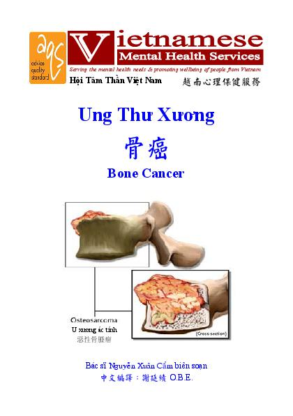 Bone Cancer Vn Cn
