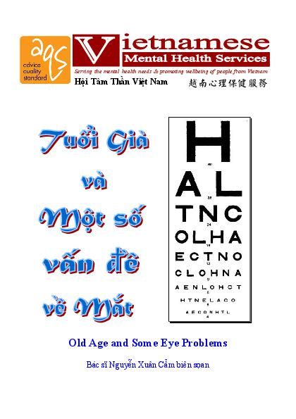 Old Age Some Eye Problems Vn