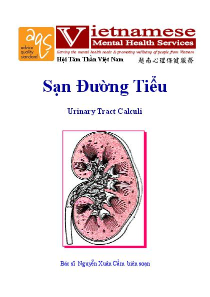 Urinary Tract Calculi Vn