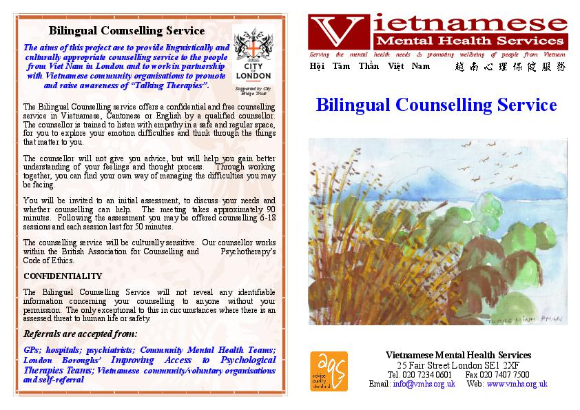 Vmhs Leaflet Counselling