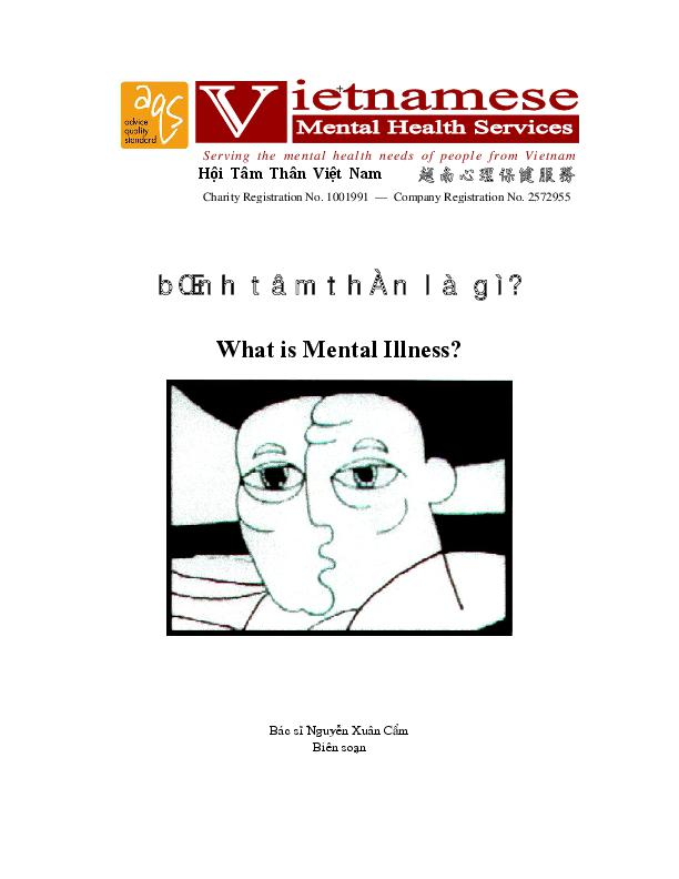 What Is Mental Illness Vn
